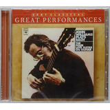 Cd John Williams Plays Bach The Four Lute Suites On Guitar