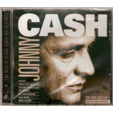 Cd Johnny Cash   The Very Best Of   Novo