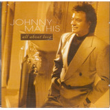 Cd Johnny Mathis   All About Love   Novo