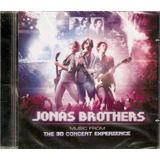 Cd Jonas Brothers   Music From 3d Concert Experience   Novo
