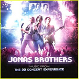 Cd Jonas Brothers   The 3d Concert Experience   Abaixou