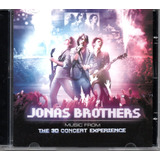 Cd Jonas Brothers   The 3d Concert Experience