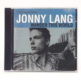 Cd Jonny Lang Wander This World Importado Europeu