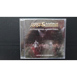 Cd Jorge & Mateus   Live In London   The Royal Albert Hall