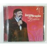 Cd Jorge Aragão Duetos   Novo
