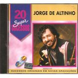 Cd Jorge De Altinho   20 Super Sucessos