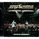 Cd Jorge E Mateus  At The Royal Albert Hall   Live In London