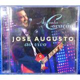 Cd José Augusto Aguenta Coração Ao Vivo Original