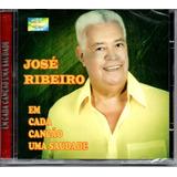 Cd José Ribeiro   Em Cada Canção Uma Saudade