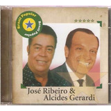 Cd Jose Ribeiro E Alcides Gerardi   Brasil Popular   Orig Lc