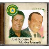 Cd José Ribeiro E Alcides Gerardi   Brasil Popular