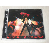 Cd Judas Priest   Unleashed In The East  inglês Rem 4 Bônus