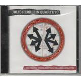 Cd Julio Herrlein Quarteto Kiko Freitas Michel Dofman