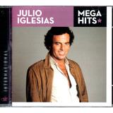 Cd Julio Iglesias   Mega Hits Internacional