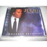 Cd Julio Iglesias Minha Vida Grandes Sucessos Vol 2