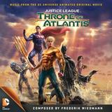 Cd Justice League Throne Of Atlantis Wiedmann Importado