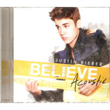 Cd Justin Bieber   Believe Acoustic   Novo