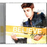 Cd Justin Bieber   Believe Acoustic