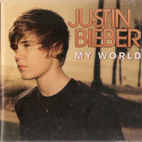 Cd Justin Bieber   My World   Novo