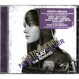 Cd Justin Bieber   Never Say Never The Remixes