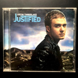 Cd Justin Timberlake   Justified  importado