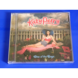 Cd Katy Perry   One Of The Boys   Lacrado