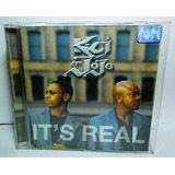 Cd Kci & Jojo It s Real  Funk Black Dance Pop Disco Original