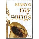 Cd Kenny G   My Songs Kit Com 3 Cds
