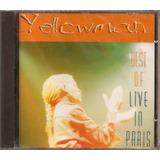 Cd King Yellowman Ao Vivo Em Paris Original Reggae Dancehall