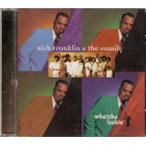 Cd Kirk Franklin & The Family   Whatcha Lookin  4   Novo