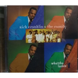 Cd Kirk Franklin   Whatcha Lookin 4 & The Family 1996