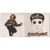 Cd Kon Kan Syntonic 1991 Original Com Encarte Seminovo