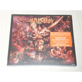 Cd Krisiun   Forged In Fury  inglês Digipack 2 Bônus   Patch