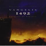 Cd Lacrado 1492 Conquest Of Paradise By Vangelis 1992