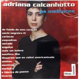 Cd Lacrado Adriana Calcanhotto As Melhores