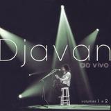 Cd Lacrado Duplo Djavan Ao Vivo Volume 1 E 2 1999