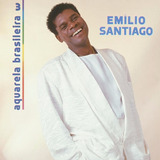 Cd Lacrado Emilio Santiago Aquarela Brasileira 3 1994