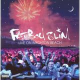 Cd Lacrado Fat Boy Slim Live On Brighton Beach 2002