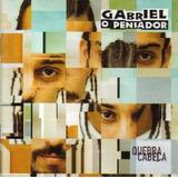 Cd Lacrado Gabriel O Pensador Quebra Cabeça 1997