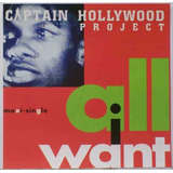 Cd Lacrado Importado Captain Hollywood Project All I Want