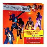 Cd Lacrado Rebelde Tour Generacion Rbd En Vivo