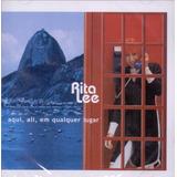 Cd Lacrado Rita Lee Aqui Ali Em Qualquer Lugar 2001