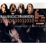 Cd Lacrado Single Mauricio Manieri Ao Vivo 2000