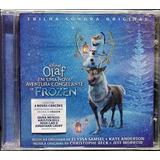 Cd Lacrado Soundtrack Olaf Em Uma Nova Aventura De Frozen