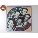 Cd Lacrado The Platters Greatest Hits   Ganha Capa Nova B3