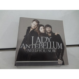 Cd Lady Antebellum   Need You Now  importado  2010