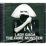 Cd Lady Gaga   The Fame Monster  Cd Duplo