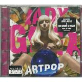 Cd Lady Gaga Artpop Feat R Kelly 2013 Universal Lacrado