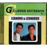 Cd Leandra E Leonardo   Grandes Sucessos