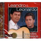 Cd Leandro E Leonardo   Grandes Sucessos